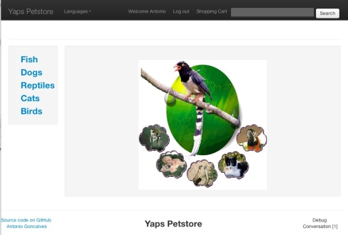YAPS Petstore